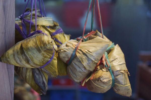 Süßigkeiten im Peranakan-Stil in Singapur