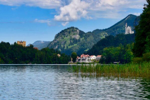 Baden mit Schlossblick – Neuschwanstein und Hohenschwangau