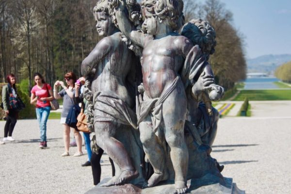 Schlossgarten von Herrenchiemsee