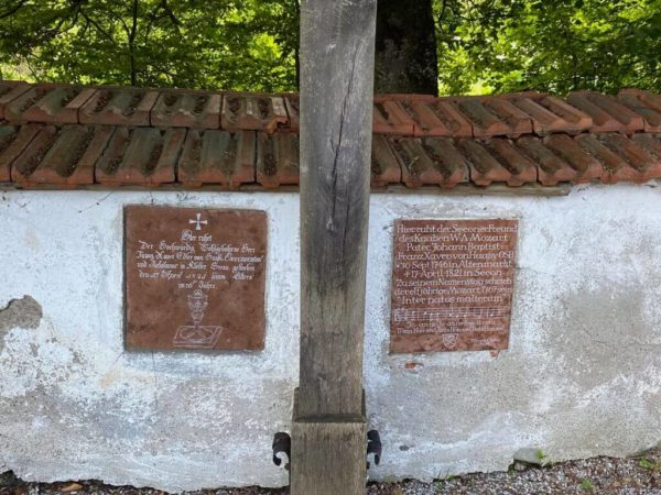 Klosterfriedhof in Seeon