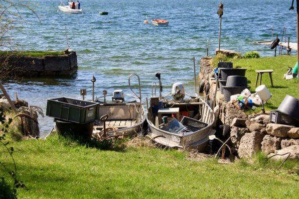 Fischerboote auf der Fraueninsel