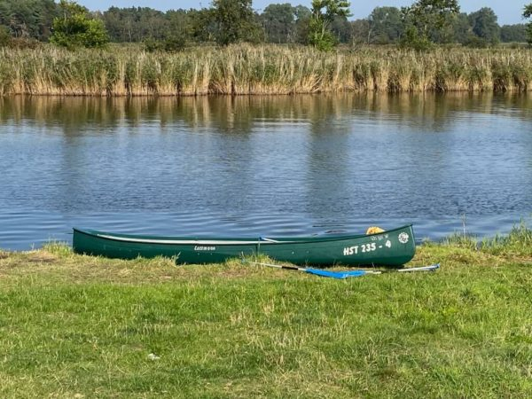 Unterwegs mit dem Kanu