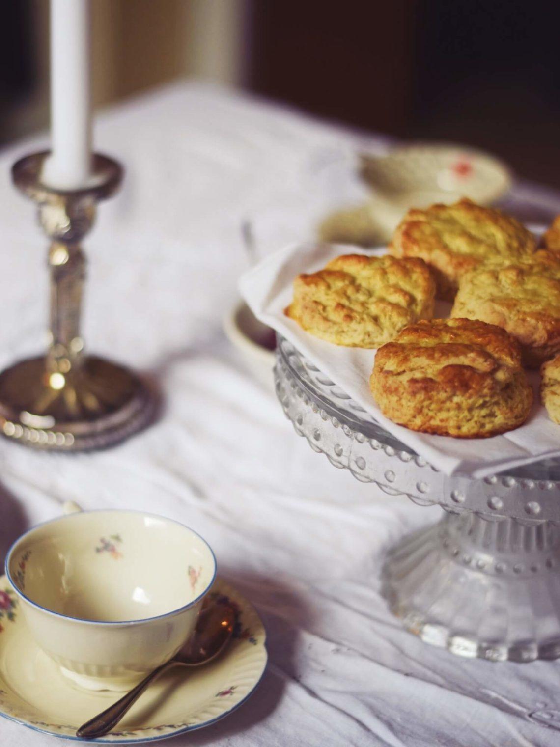 Scones zum Afternoon Tea