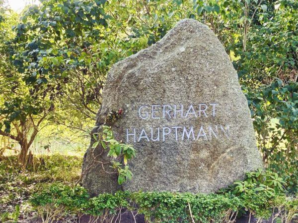 Grab von Gerhart Hauptmann auf Hiddensee