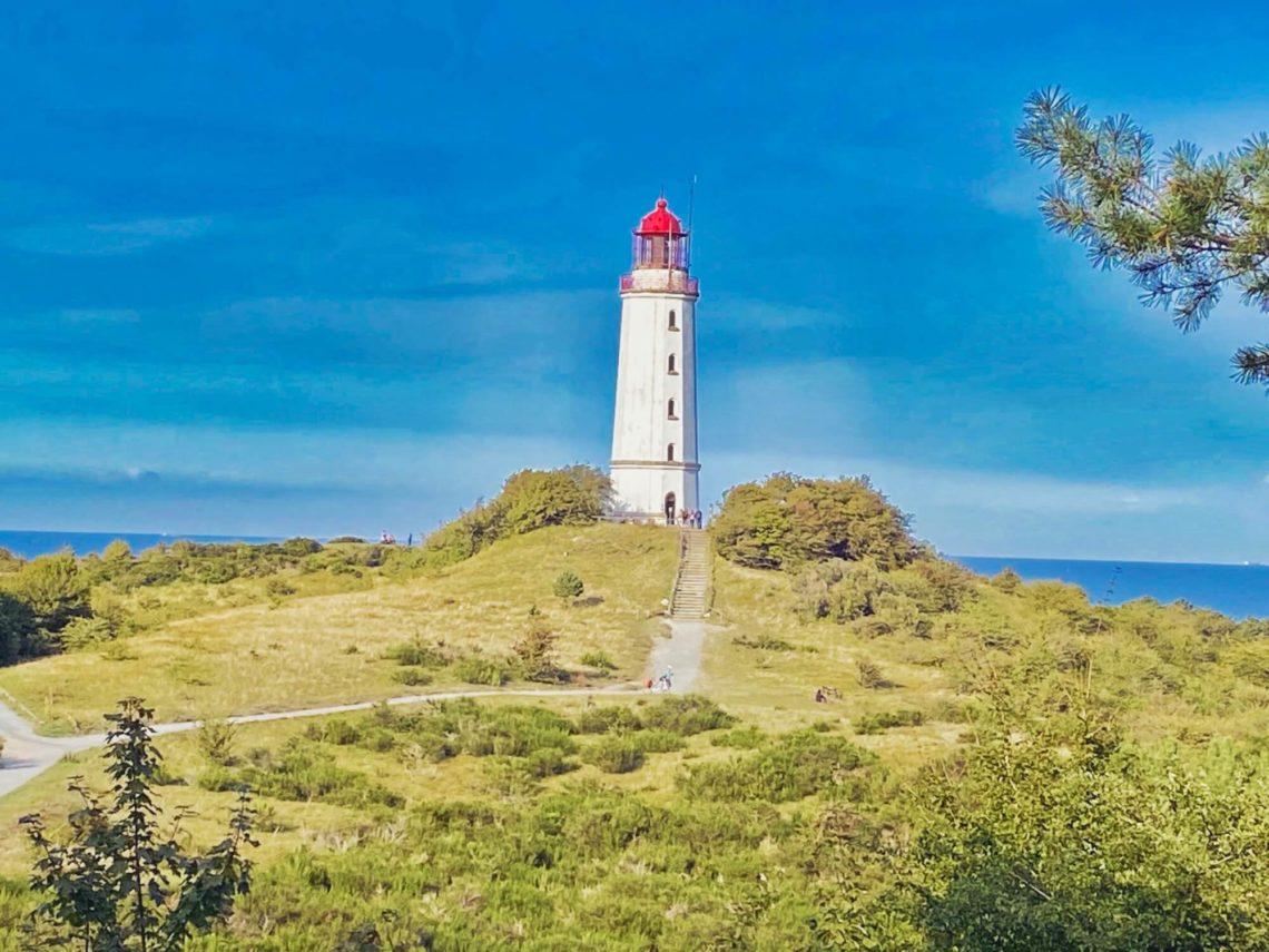 Hiddensee: Leuchturm auf dem Dornbusch