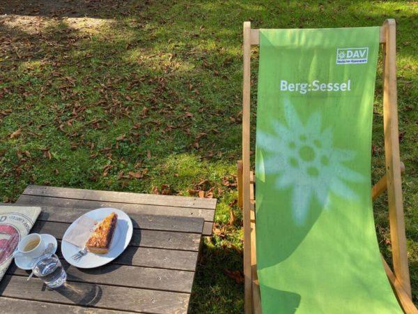 Entspannung pur: Café Isarlust im Alpinen Museum