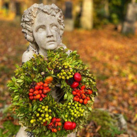 Herbst auf dem Münchner Südfriedhof
