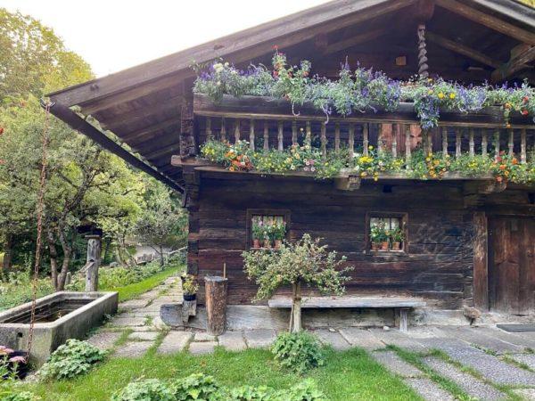 Bayerwaldhaus im Westpark