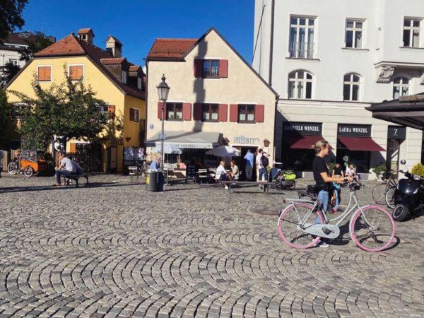 Haidhausen Idylle: Wiener Platz