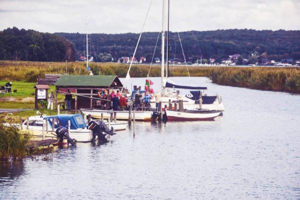 Boddenhafen in Baabe