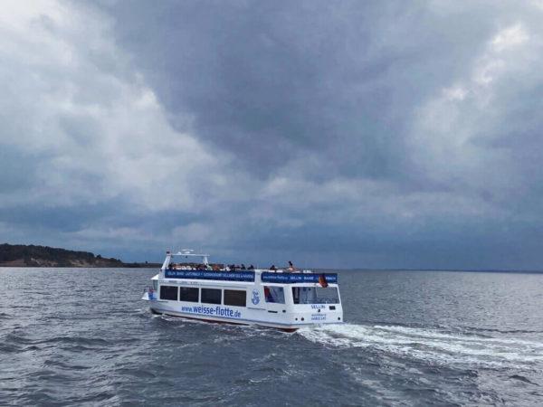 Unterwegs mit der Weißen Flotte auf Rügen