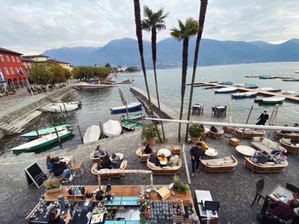 Loungebar am Lago Maggiore
