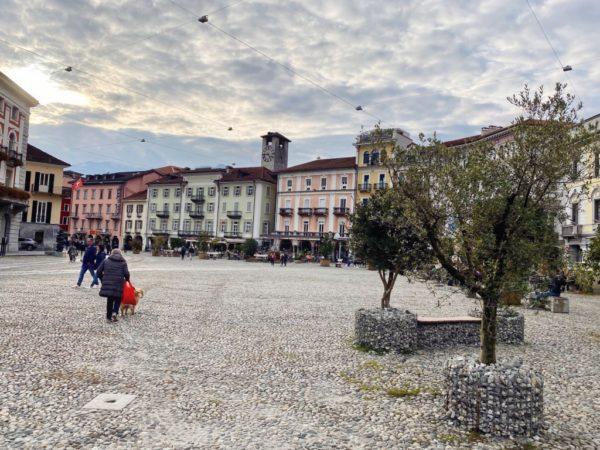 Ein Platz für großes Kino: Piazza Grande in Locarno