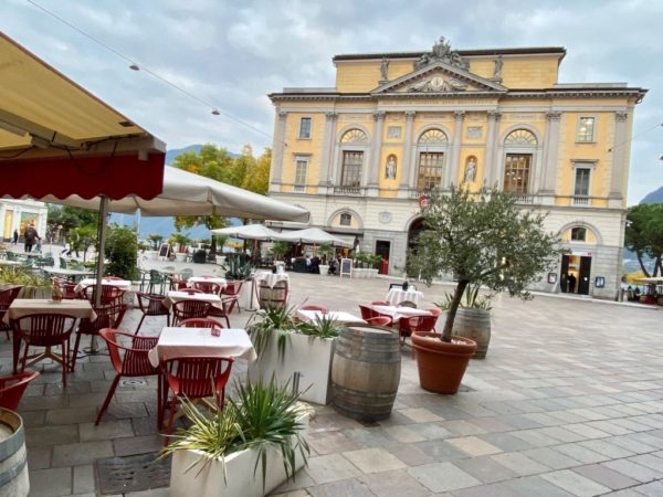 Hochherrschaftlich: Piazza Riforma in Lugano