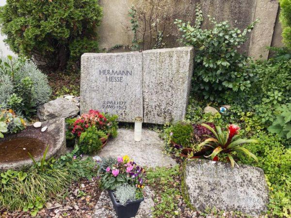 Grab von Hermann Hesse