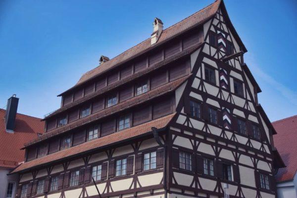 Siebendächerhaus in Memmingen