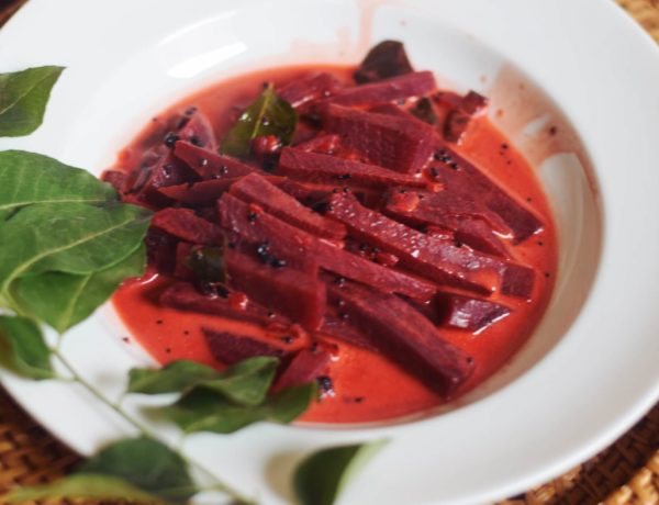 Farbstarkes Rote-Bete-Curry