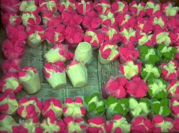 Balinesische Reiskuchen
