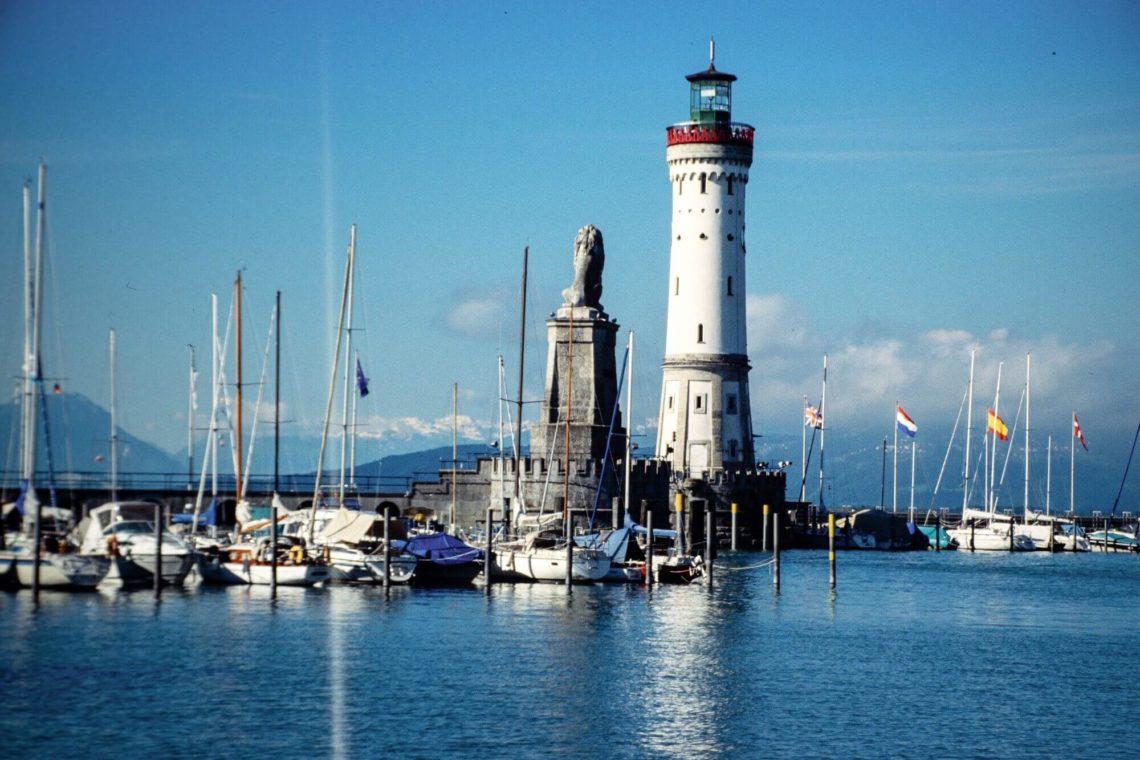 Lindau am Bodensee – Hafeneinfahrt