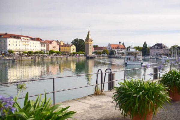 Lindau am Bodensee – Blick auf Diebesturm
