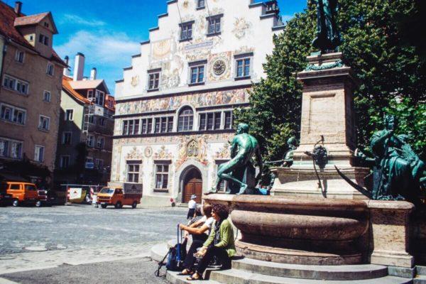 Rathaus von Lindau am Bodensee