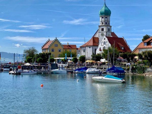 Wasserburg am Bodensee – Blick auf das Schloss