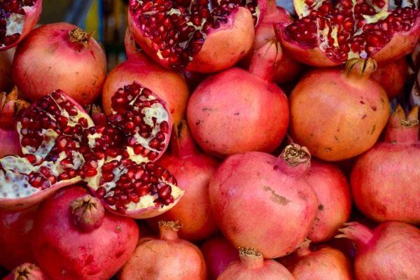 Köstliche Granatäpfel