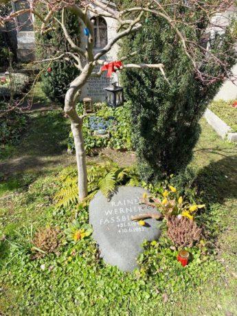 Bogenhausener Friedhof: Rainer Werner Fassbinder