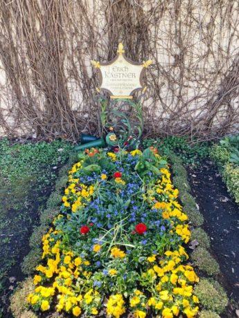 Bogenhausener Friedhof: Grab Erich Kästner