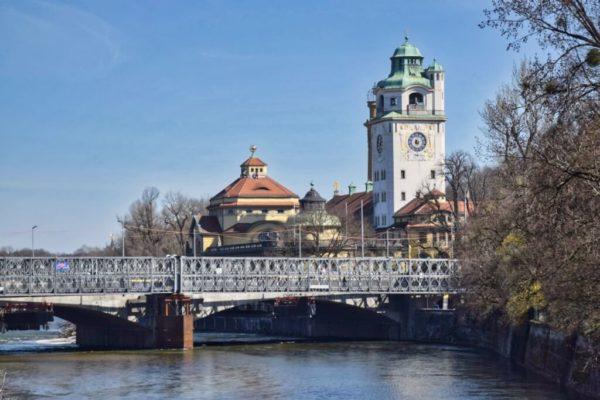 Blick auf Müllersche Volksbad