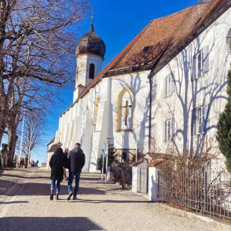 Wallfahrtskirche auf dem Peißenberg