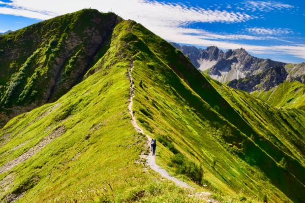 Gratweg am Fellhorn
