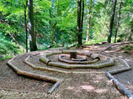 Waldspirale beim Skywalk in Scheidegg