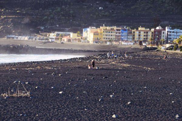 Lavastrand in Puerto de Tazacorte