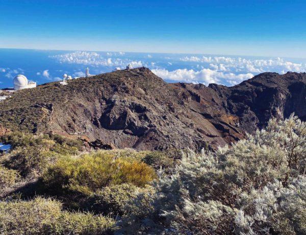 Roque de los Muchachos - Blick nach Teneriffa