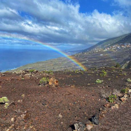 Ruta de los Volcanes - Westküste mit Regenbogen