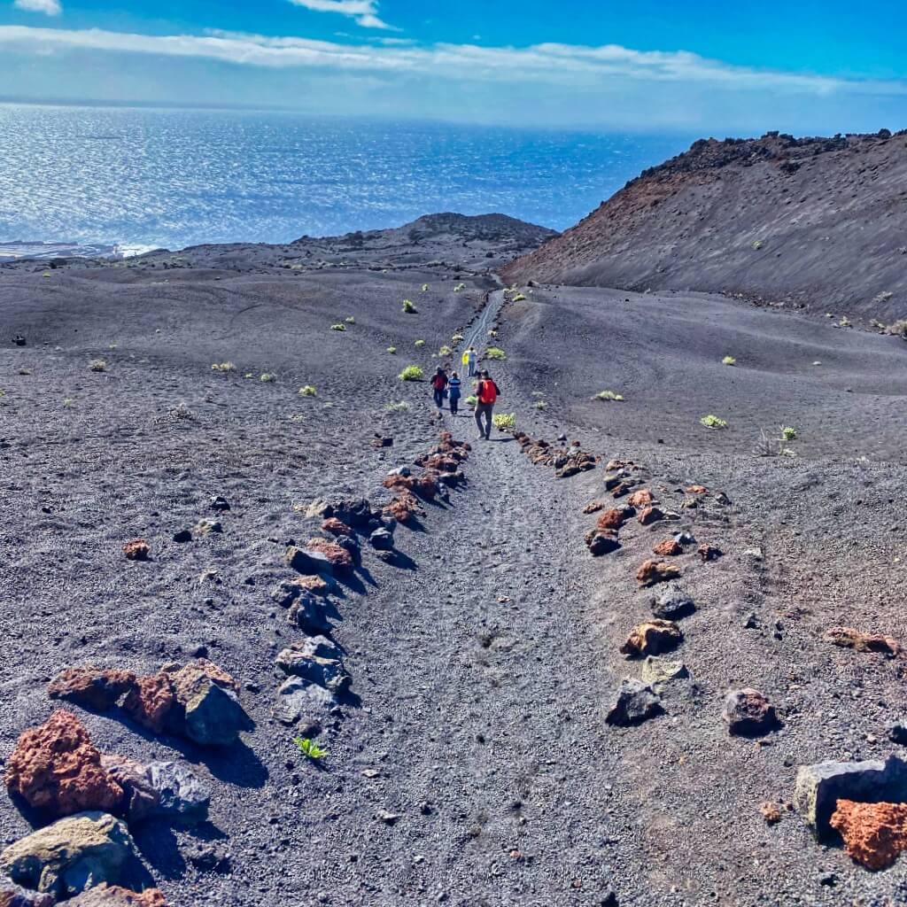Wanderweg Ruta de los Volcanes auf La Palma