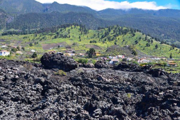 Lavastrom bei Cuevas de las Palomas