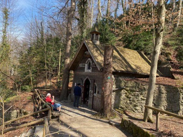 Kreuzwegkapelle an der Isar