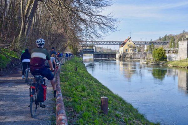 Radtour auf dem Isarradweg
