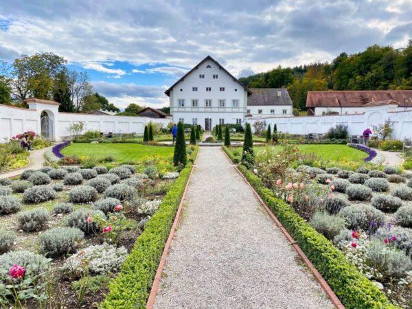 Klostergarten in Schäfftlarn