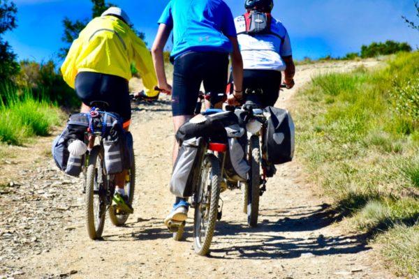 Pilgern mit dem Fahrrad
