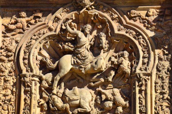 Der heilige Jakobus als Maurentöter