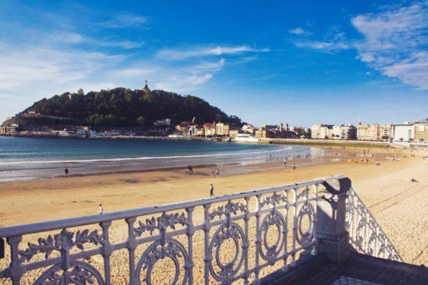 Strandbucht von San Sebastian
