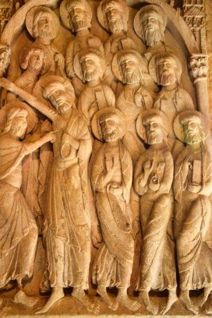 Kloster Santo Domingo de los Silos – romanisches Relief