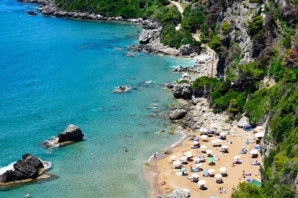 Myrtiotissa Beach bei Pelekas