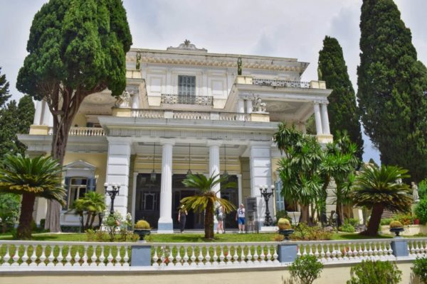 Sissi Sommerschloss auf Korfu: das Archilleion
