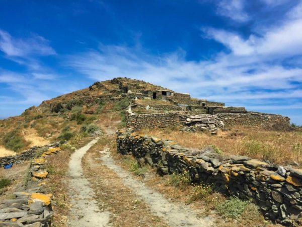 Verlassenes Dorf auf Folegandros