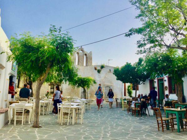 Folegandros: Der Hauptort Chora