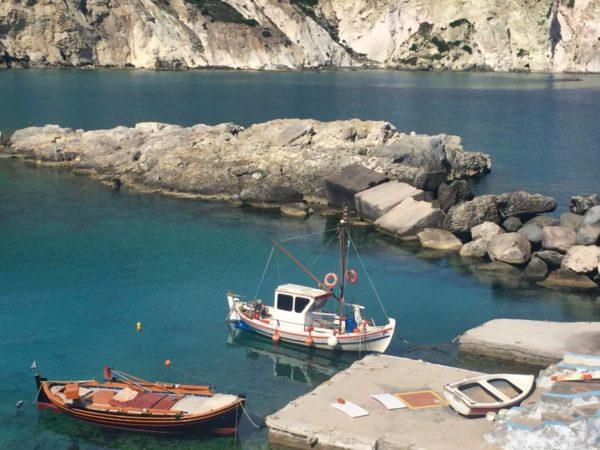 Fischerhafen von Mandrakia